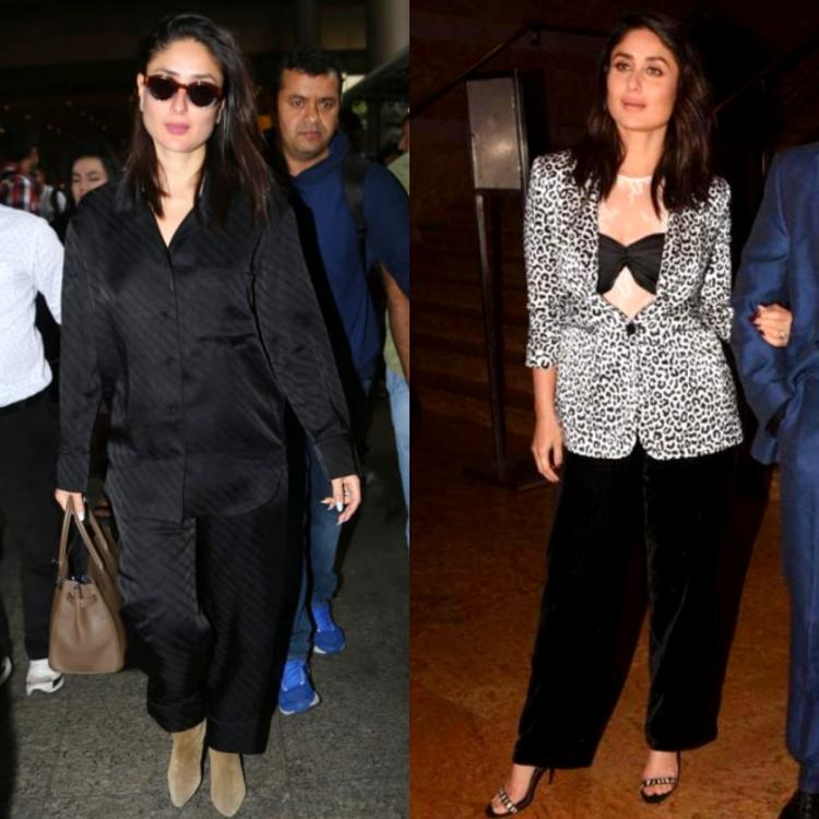 Kareena Kapoor Khan proves she can look effortlessly stylish in both pajamas and pantsuits