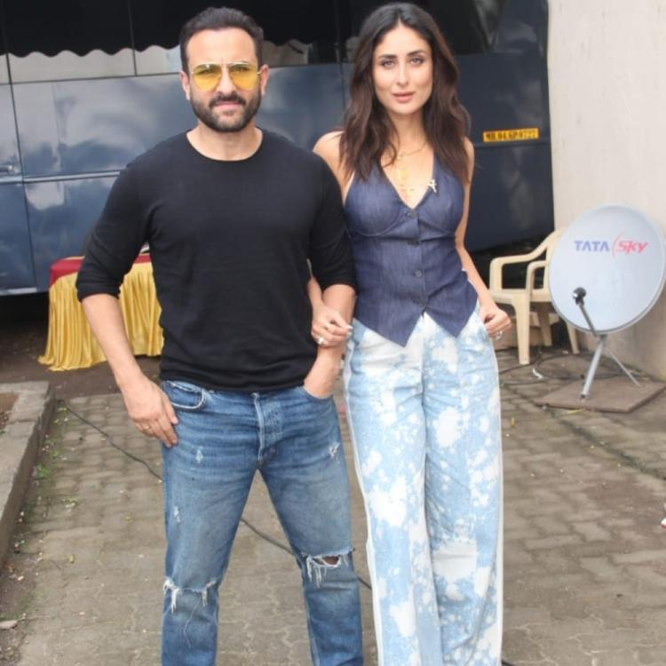 Kareena Kapoor Khan is left speechless post Saif Ali Khan jokes about 'role play' keeping marriage spark alive