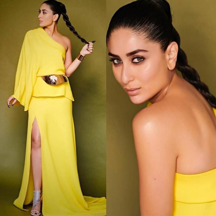 Kareena Kapoor Khan loves her solid colours and here we have enough proof
