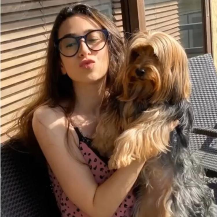 Karisma Kapoor kickstarts her morning with her four legged friend; Check out the video