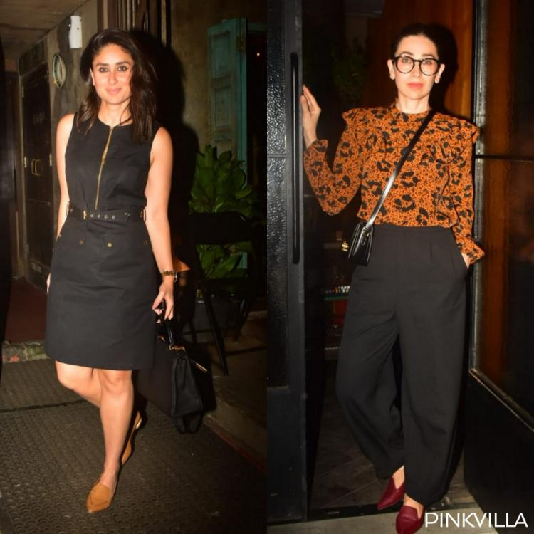 PHOTOS: Kareena Kapoor Khan and Karisma Kapoor keep it simple and stylish as they head out for dinner