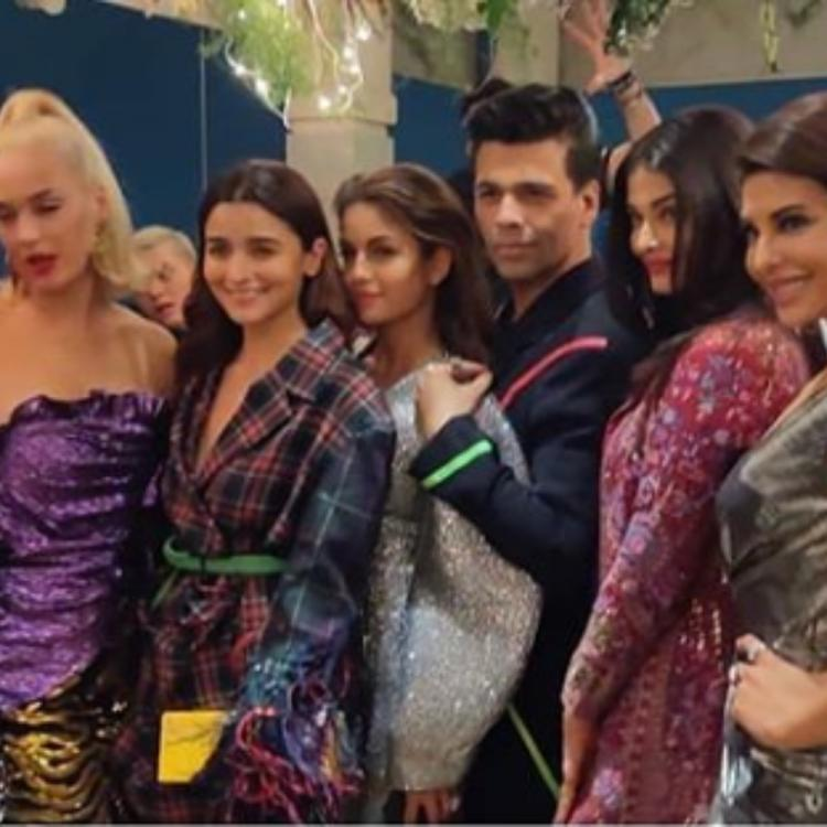 Alia Bhatt, Aishwarya Rai, Malaika Arora & others posing with Katy Perry in THIS pic are giving us squad goals