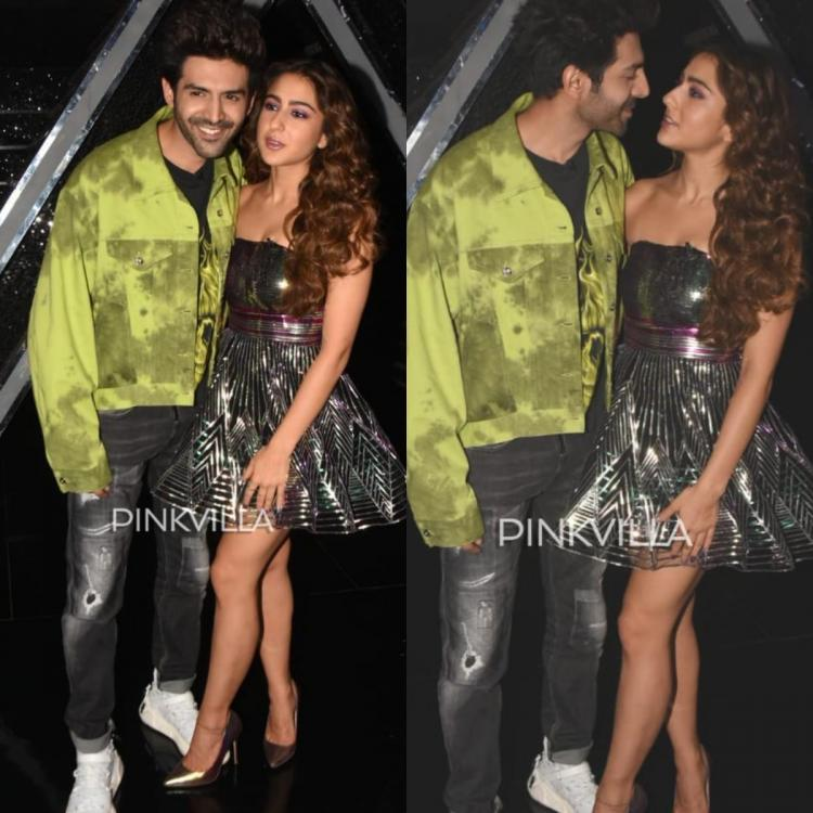 Kartik Aaryan and Sara Ali Khan's dreamy dance on the sets of Dance Plus 5 sends the fans into a frenzy