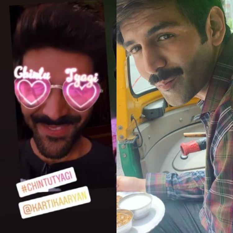 Kartik Aaryan becomes the FIRST Bollywood actor to get his character's filter on Instagram; Check it out