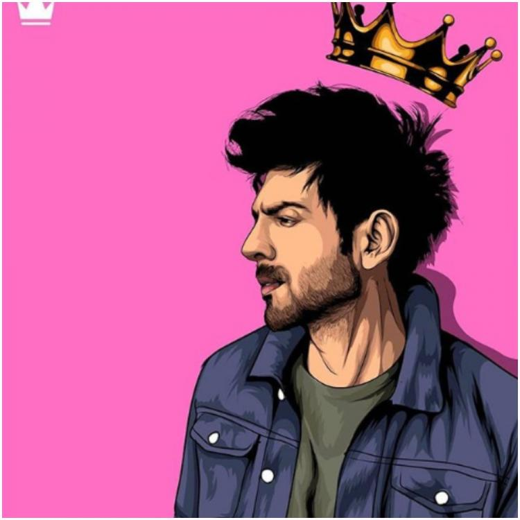 Kartik Aaryan's latest post proves he is a prince of hearts and even the crown can't mess with his hair
