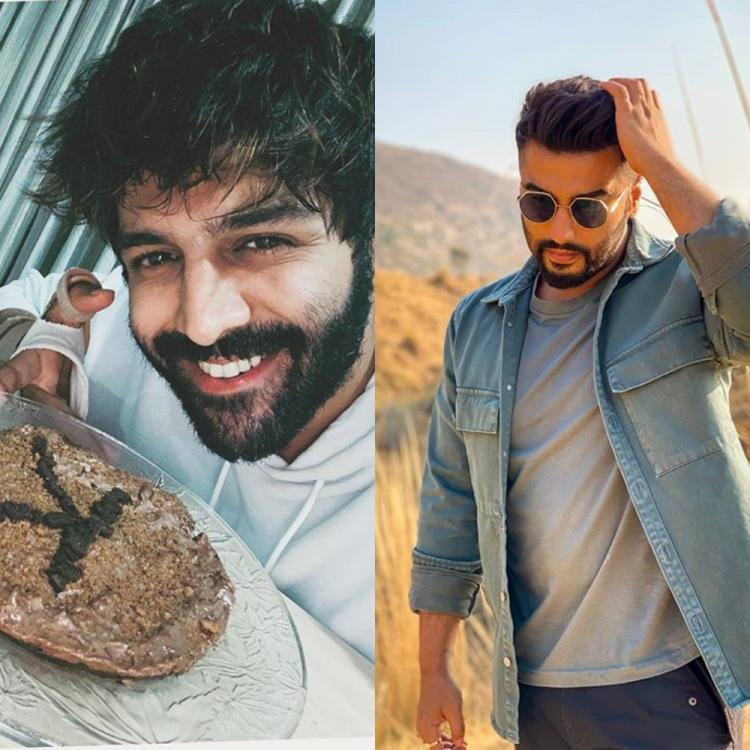 Kartik Aaryan celebrated his sister's birthday amid quarantine as the actor baked a cake for his sister.