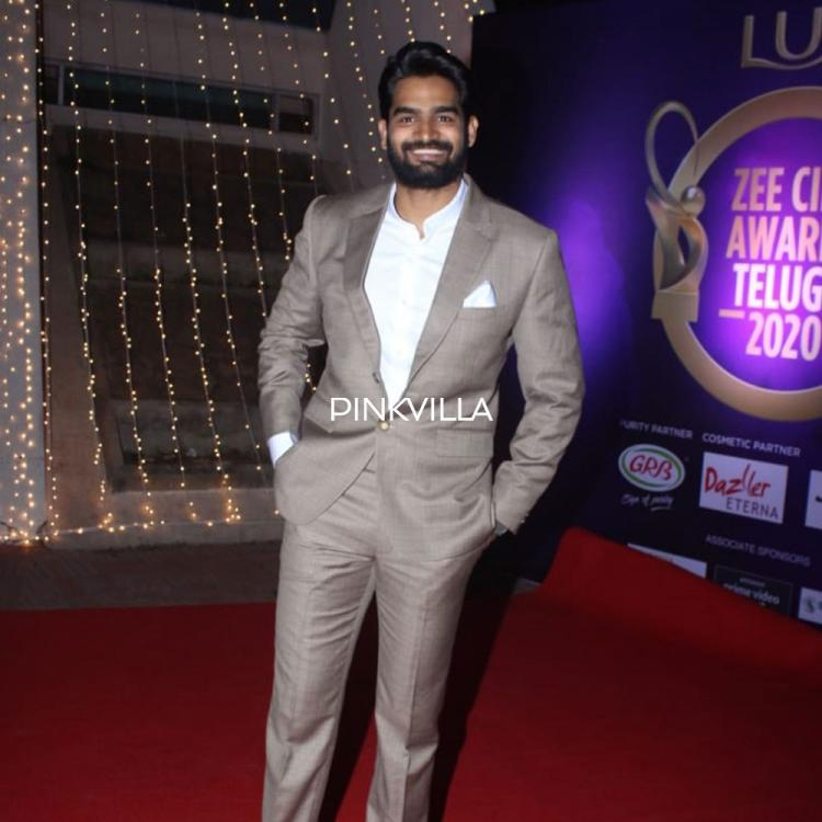 PHOTOS: Kartikeya Gummakonda looks regal in formals at the red carpet of Zee Telugu Awards
