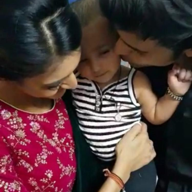 Kasautii Zindagii Kay's Parth Samthaan and Erica Fernandes enjoy a playdate with his niece; View Pics