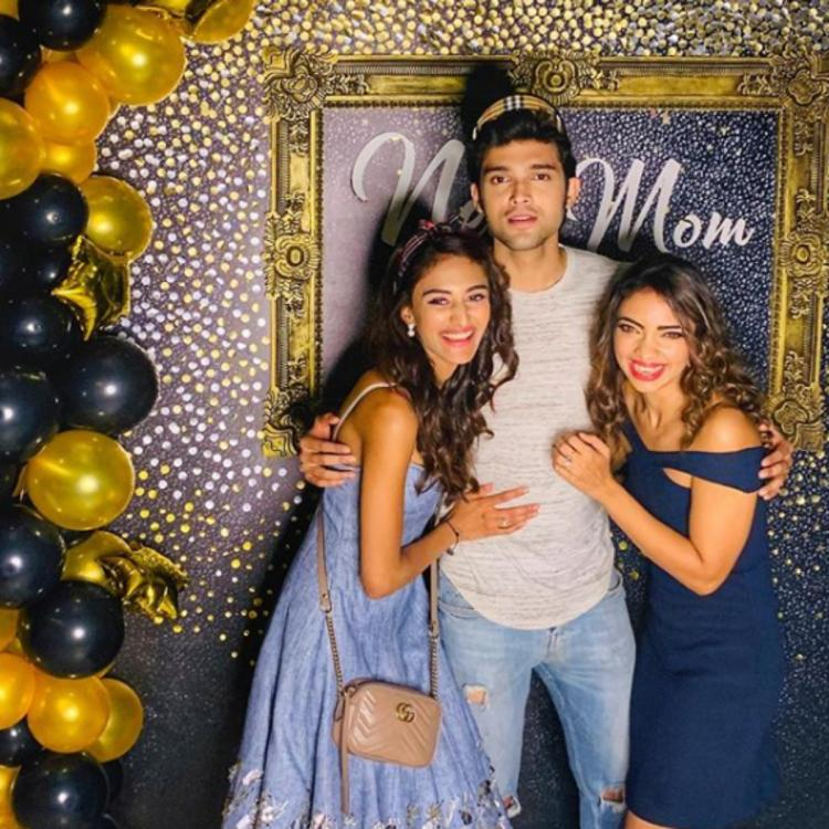 Kasautii Zindagii Kay trio Parth Samthaan, Erica Fernandes & Pooja Banerjee pose for the perfect picture