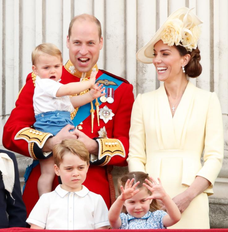 Prince William and Kate Middleton are parents to three children - Prince George(6), Princess Charlotte (4) and Prince Louis (1).