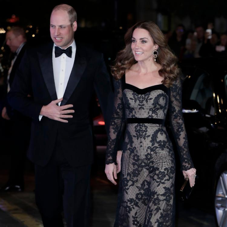 Prince William and Kate Middleton enjoy a fun date as they attend Royal Variety Performance; View Pics
