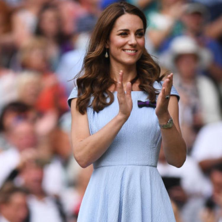 Kate Middleton at Wimbledon in Emilia Wickstead; Yay or Nay?