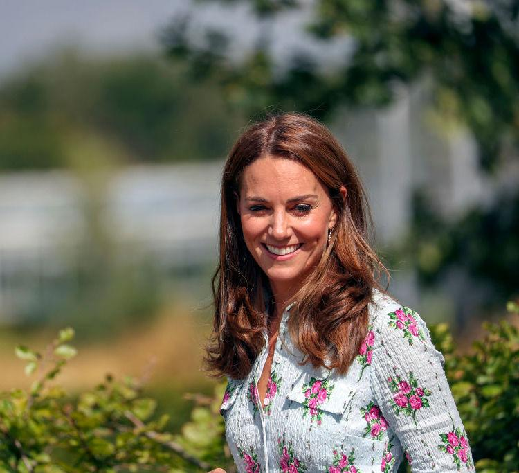 Kate Middleton donned a floral Emilia Wickstead dress with the CLASSIEST USD 6 earrings; Check it out