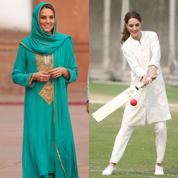 Kate Middleton shows us how to go from a traditional ritual to a fun cricket game in a jiffy