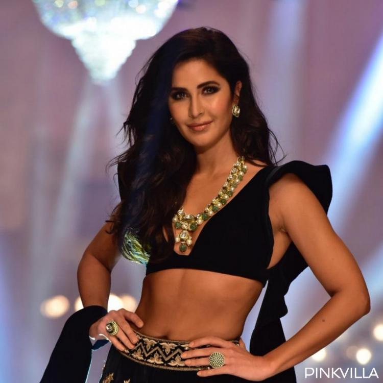 PHOTOS: Katrina Kaif looks stunning in a black lehenga as she walks for Manish Malhotra at Lakme Fashion Week