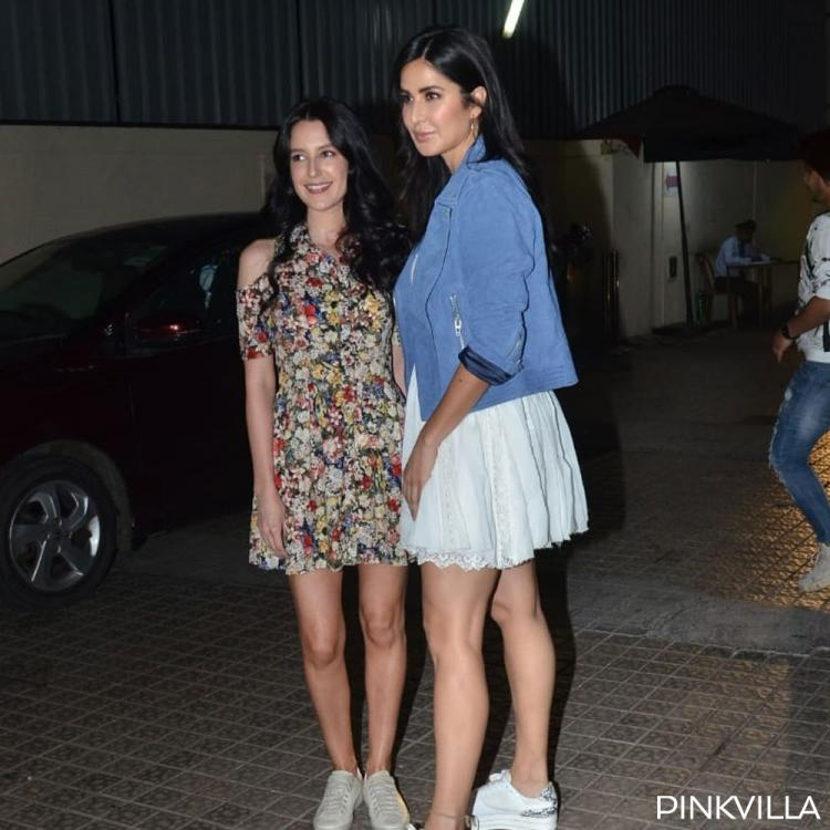 Katrina Kaif enjoys a movie date with sister Isabelle Kaif during Vicky Kaushal's Bhoot screening; See Pics