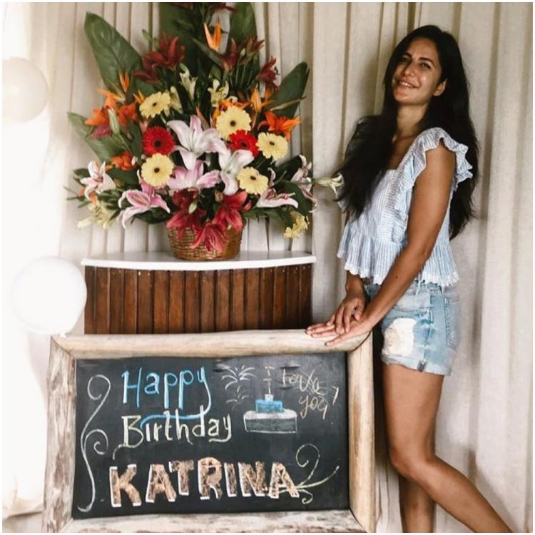 Katrina Kaif thanks everyone for making her birthday special; View Post