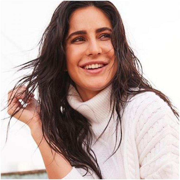 Katrina Kaif flaunts her winter glow in a white turtleneck pullover & leaves us in awe; Check it out