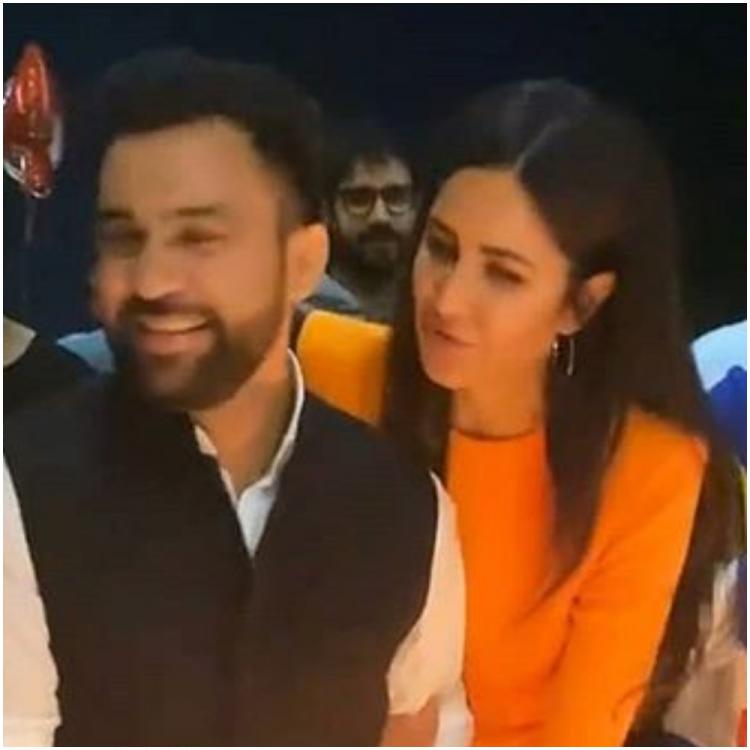 Katrina Kaif joins BFF Ali Abbas Zafar to cut his birthday cake; Vicky Kaushal, Isabelle Kaif cheer on; WATCH