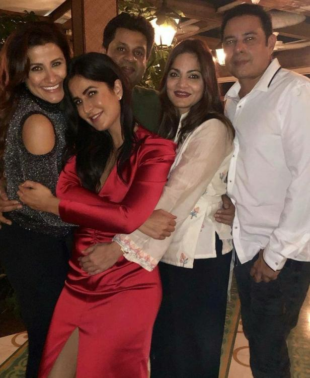 Katrina Kaif is all smiles with her friends in these inside pictures from Ali Abbas Zafar's birthday party
