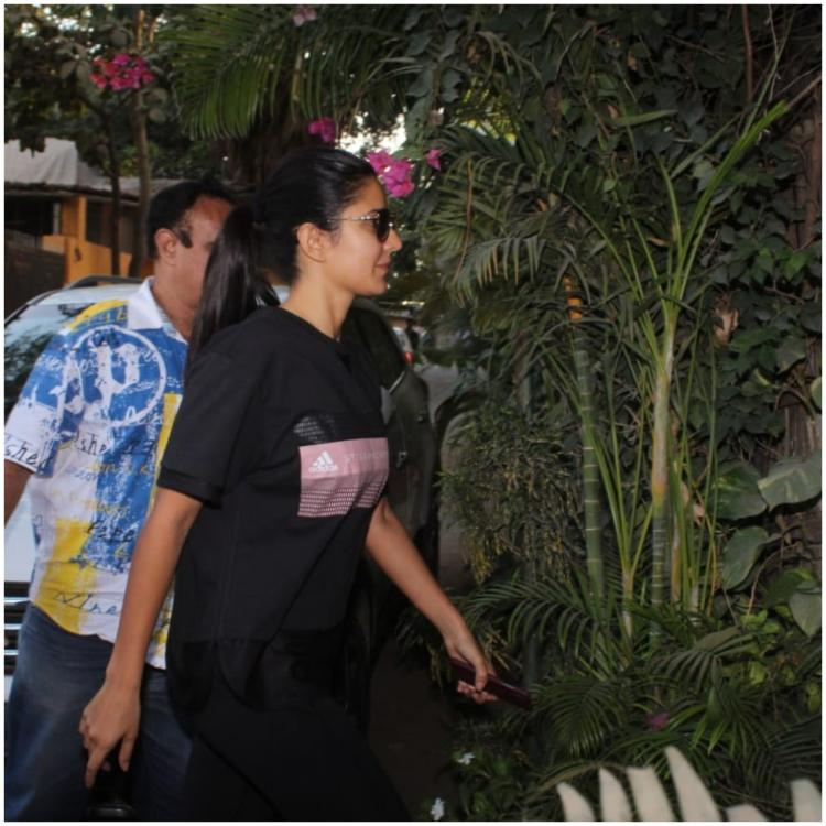 PHOTOS: Katrina Kaif sports a casual all black look as she heads to the clinic