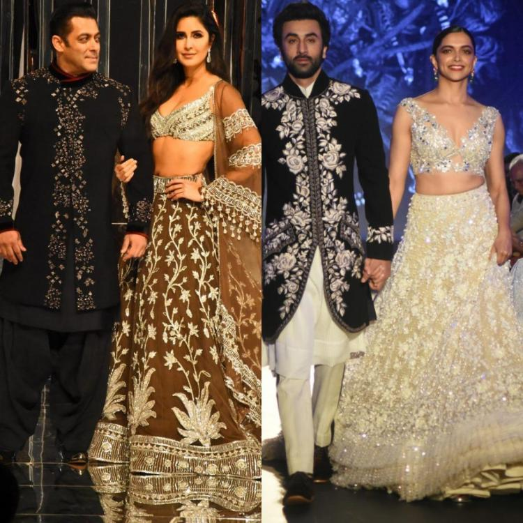 Katrina Kaif and Salman Khan or Deepika Padukone and Ranbir Kapoor, Which duo aced the ramp walk? VOTE