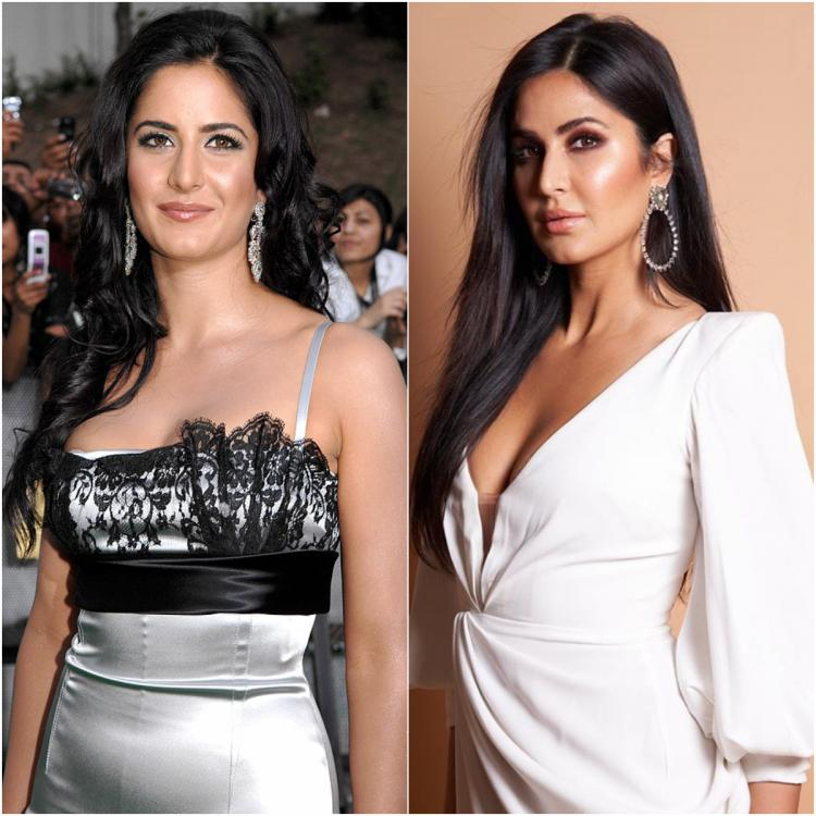 Then vs Now: Katrina Kaif has always been big on fashion & makeup and these comparison photos are enough proof