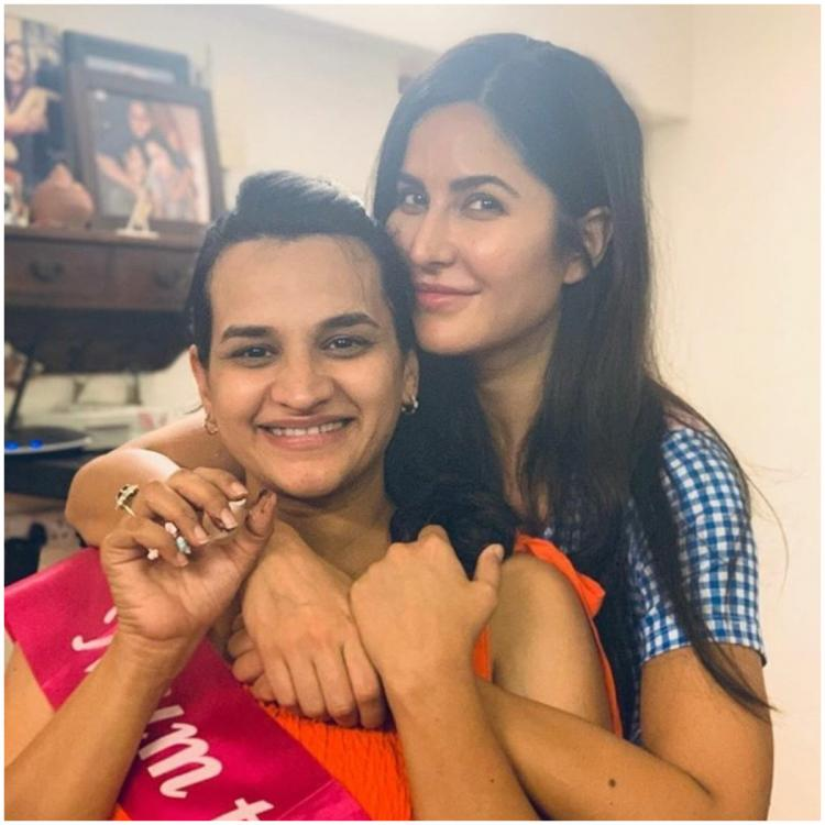 Katrina Kaif attends her manager's baby shower and their pictures are winning the internet