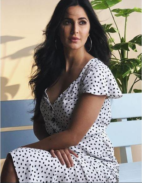 Katrina Kaif strikes the perfect pose as she keeps it simple in a white dress; view PIC