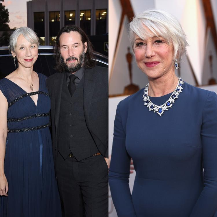 Keanu Reeves' girlfriend Alexandra Grant mistaken for Helen Mirren; Here's what the latter has to say