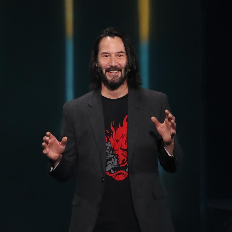 Keanu Reeves was spotted holding hands with Alexandra Grant at a film event in Los Angeles