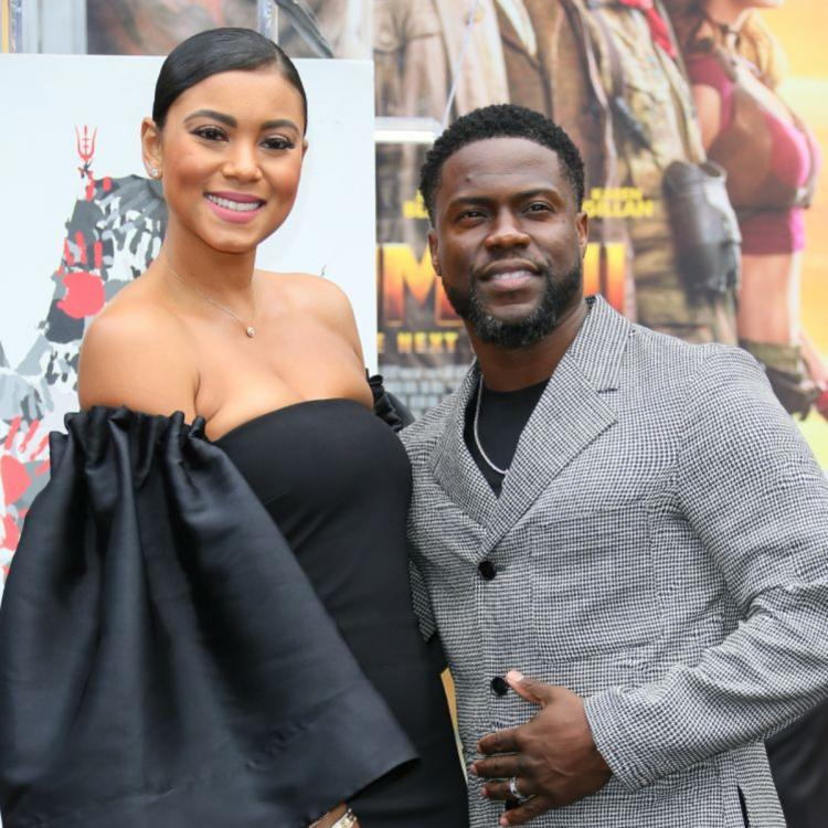 Kevin Hart reveals wife Eniko pregnant with their second baby; Buddy Dwayne Johnson showers couple with love