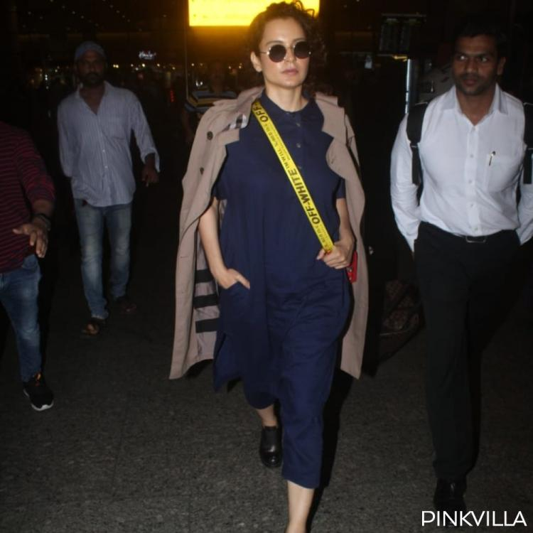 Airport Diaries: Kangana Ranaut is back in the bay post her mini vacation in Manali
