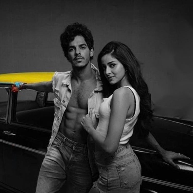 Image result for Ananya Panday and Ishaan Khatter in Kaali Peeli