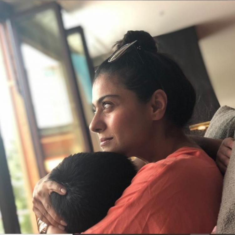 Kajol shares an adorable PIC with son Yug Devgn ahead of his birthday; take a look