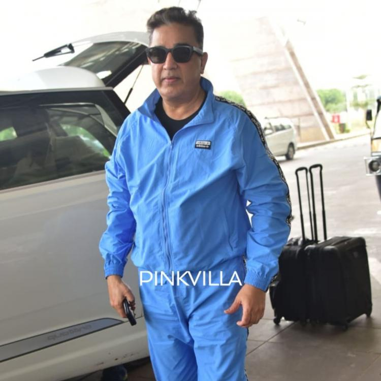 PHOTOS: Kamal Haasan is all smiles as he gets papped at the airport