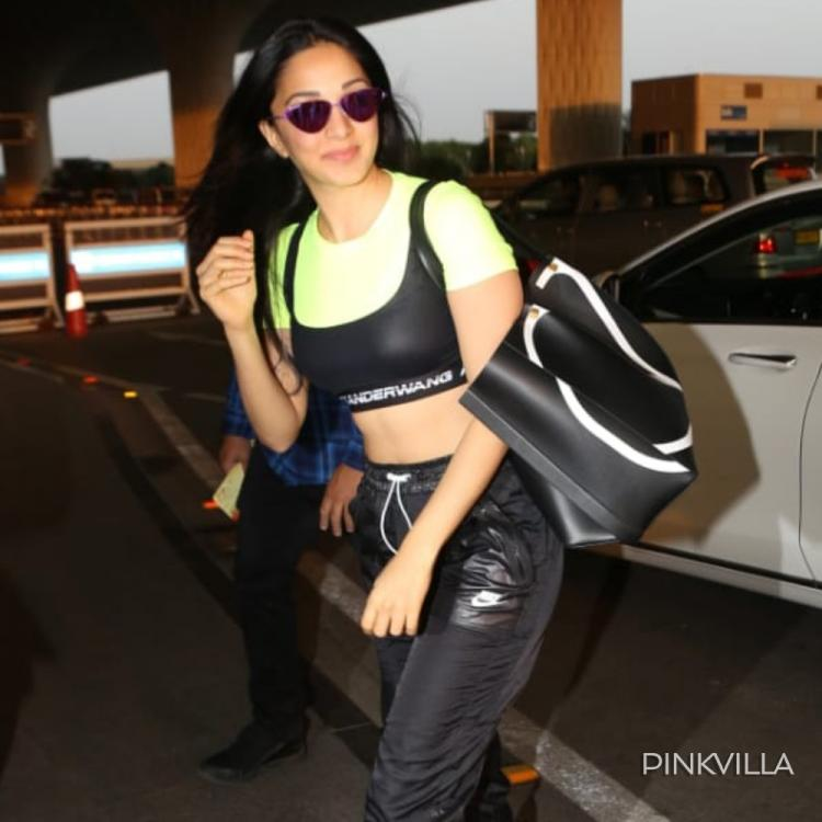 PHOTOS: Kiara Advani looks all cool and peppy as she gets captured at the airport