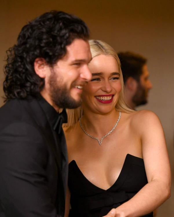 Kit Harington and Emilia Clarke are amongst the 10 Game of Thrones actors nominated at Emmys 2019.