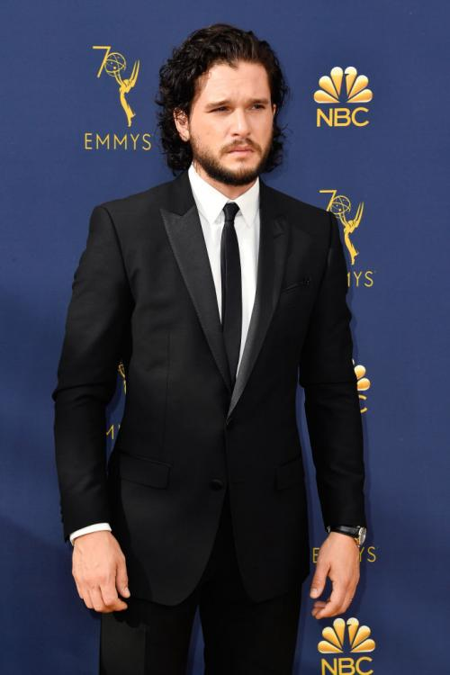 Kit Harington is ecstatic to receive an Emmy nomination for Game of Thrones' final season.