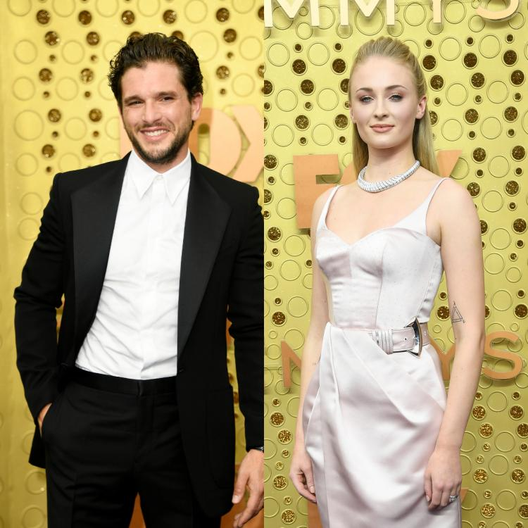 Kit Harington and Sophie Turner recreate an iconic Game of Thrones moment at Emmys 2019 & GoT fans are weeping