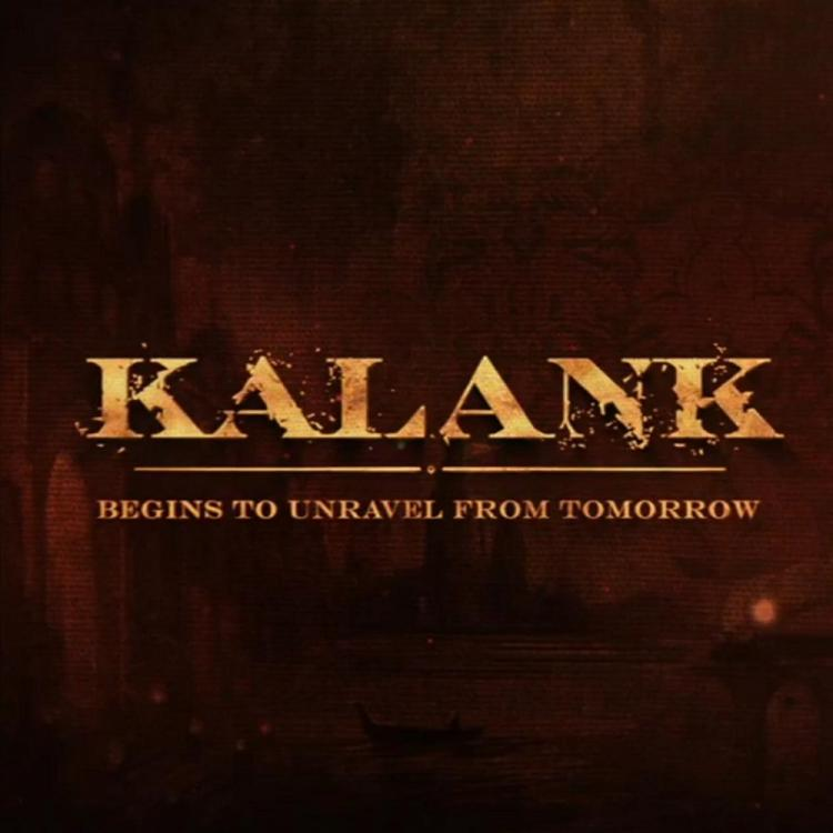 KALANK: Varun Dhawan, Alia Bhatt share a glimpse as they are all set to unravel the film