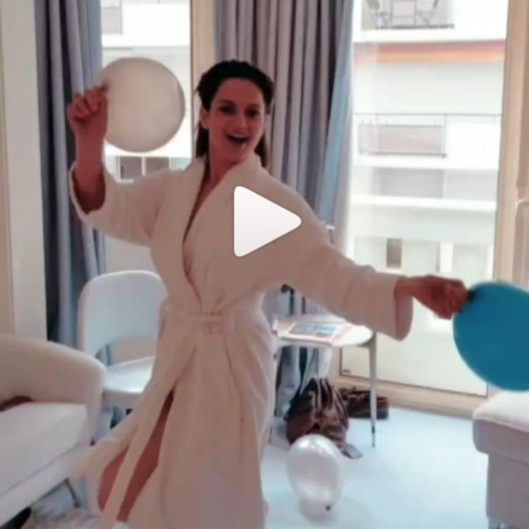 Cannes 2019: This is how Kangana Ranaut woke up before her grand appearance at the event; Watch Video