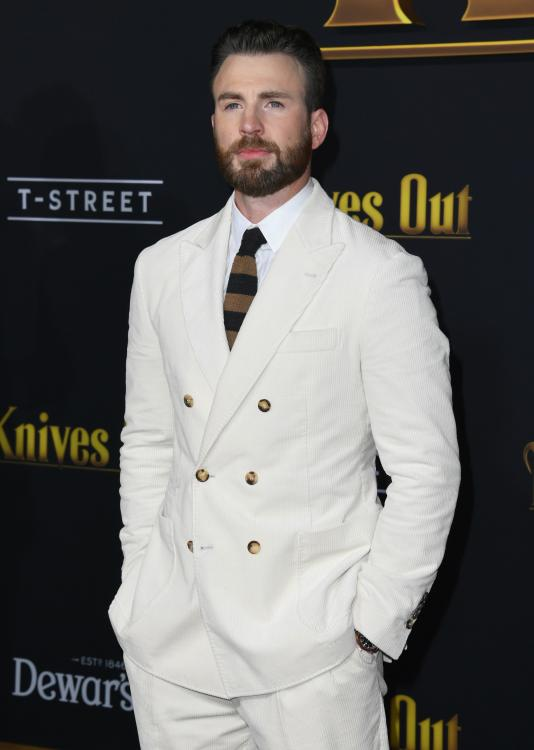 Chris Evans also dished the details about his first kiss.