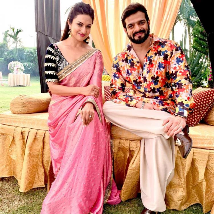 Yeh Hai Mohabbatein: Divyanka Tripathi and Karan Patel share a selfie together after a long time leaving IshRa fans happy