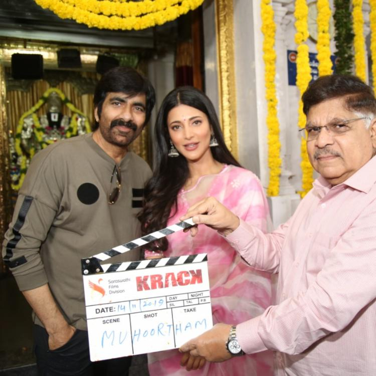 Ravi Teja's upcoming film with director Gopichand Malineni titled as Krack; Read details