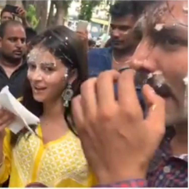 Pati, Patni Aur Woh: Ananya Panday shares a funny BTS video from the sets in Lucknow