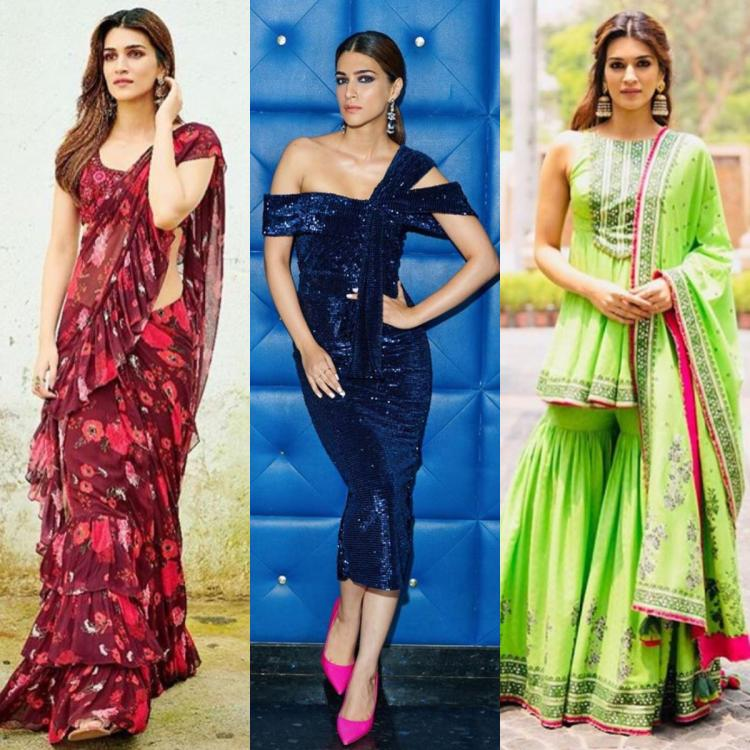 Arjun Patiala: Kriti Sanon's promotional wardrobe was a mix of bling, glamour with a dash of desiness