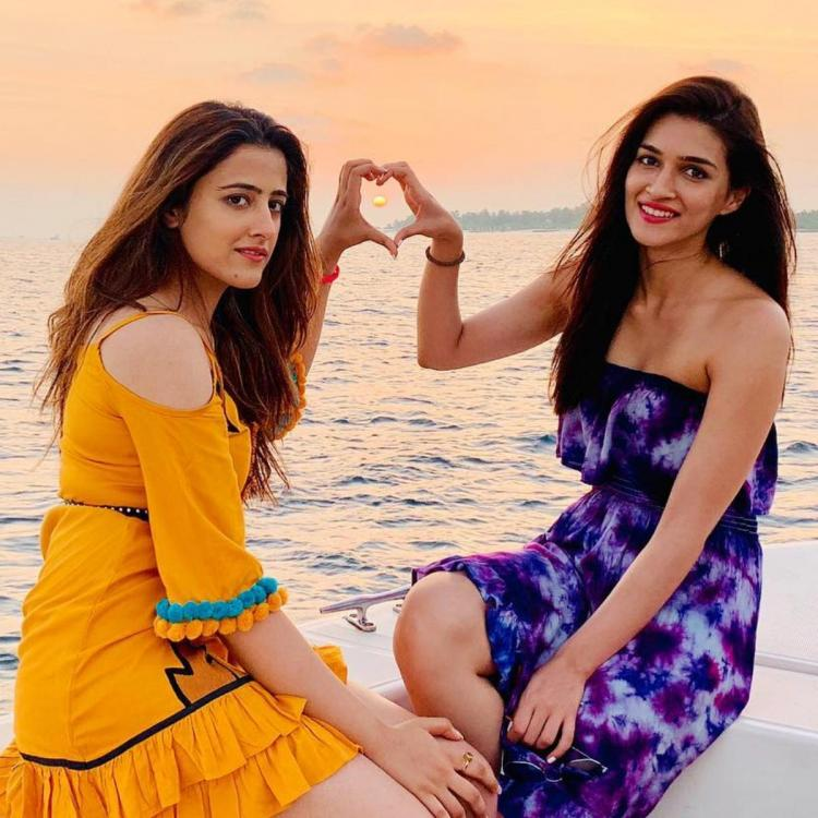Kriti Sanon is very protective and possessive about sister Nupur Sanon