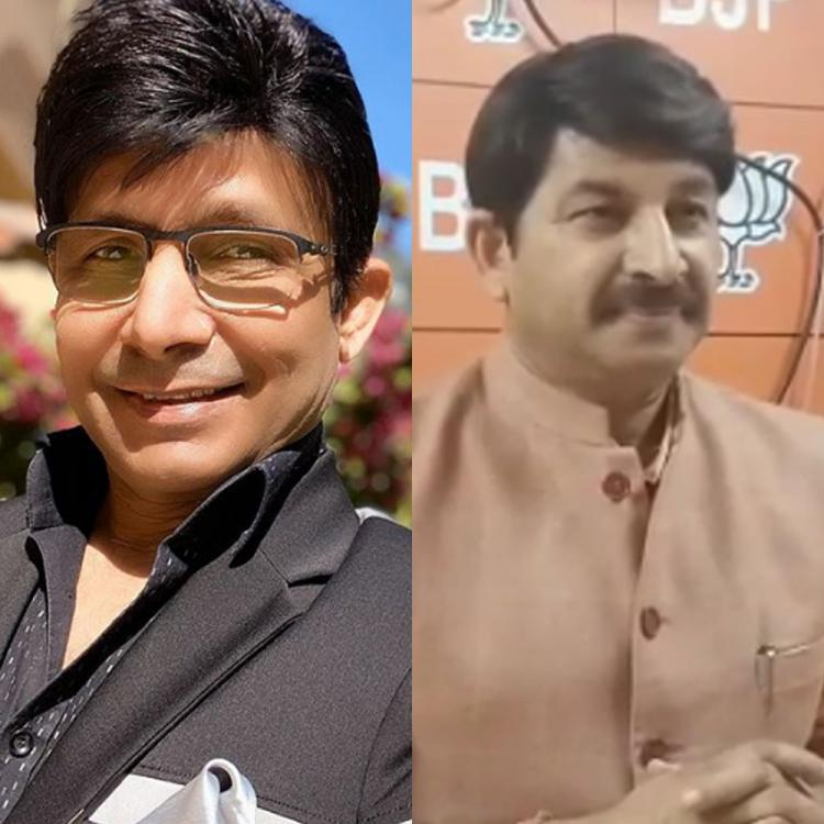 Delhi Elections 2020: KRK takes a witty jibe at Manoj Tiwari over his claims of defeating Arvind Kejriwal