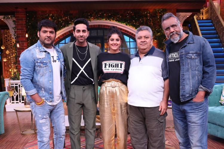 The star cast of Article 15 along with their director Anubhav Sinha will be seen laughing their hearts out as well as sharing anecdotes and experience of filming Article 15 on The Kapil Sharma Show this weekend.